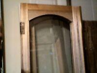conservatory double doors hardwood and double glazed