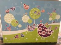 Picture by Funky Little Darlings perfect for childrens kids bedroom