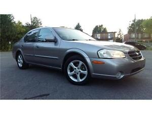 ***2001 NISSAN MAXIMA GLE***CUIR/TOIT/MAGS/PROPRE/438-936-9200