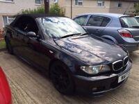 2002 BMW FACELIFT 325CI MANUAL MSPORT CONVERTIBLE modified replica drift remap drift swap part ex