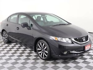 2014 Honda Civic Sedan w/SUNROOF AND HEATED LEATHER