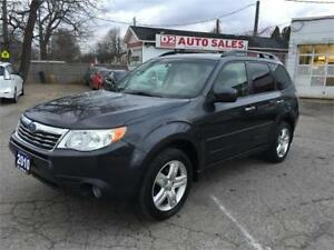 2010 Subaru Forester Automatic/Limited/Leather/Roof/Navi/Certif