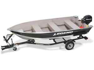 2016 14ft Aluminum Boat Package CLEAR OUT
