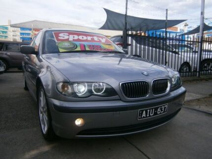 2004 BMW 325i E46 Sport Gunmetal Grey 5 Speed Auto Steptronic Sedan Preston Darebin Area Preview