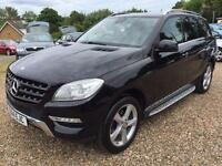 Mercedes-Benz ML250 2.1CDI ( 204bhp ) 4X4 7G-Tronic Plus 2014.5MY ML250 BlueTec
