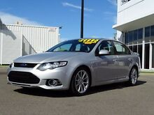 2013 Ford Falcon FG MkII XR6 Turbo Silver 6 Speed Sports Automatic Sedan Garbutt Townsville City Preview