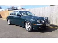 Jaguar S-Type 4.2 V8 SE 4dr 2002 02 REG ONLY 117K F.S.H FULLY LOADED