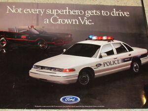 batman collection - thin out - lot #5  Ford Crown Vic posters