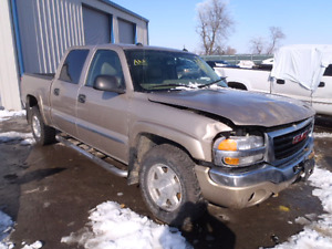 Parting out 2005 gmc Sierra