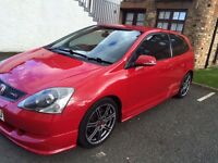 Honda Civic Type R EP3 2005 Milano Red FSH 12M Mot