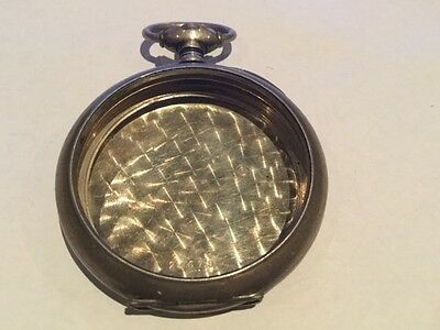 ANTIQUE  POCKET WATCH CASE ONLY  FOR PARTS SOLD AS IS #2