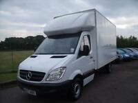MERCEDES SPRINTER LUTON VAN , White, Manual, Diesel, 2007