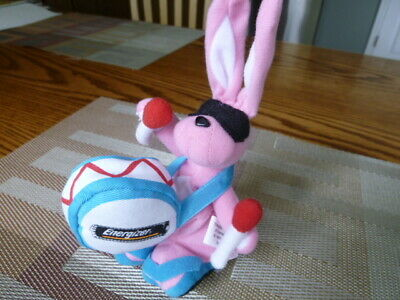 Vintage NOS 1997 Eveready Energizer Bunny Promotional Plush Toy 7