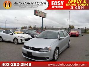 2012 VW JETTA  LOW KM ALL CREDIT APPROVED