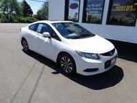 2013 Honda Civic Couple Fully loaded for only $128 bi-weekly!