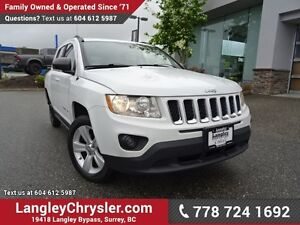 2011 Jeep Compass Sport/North w/ 4X4, U-CONNECT BLUETOOTH & H...
