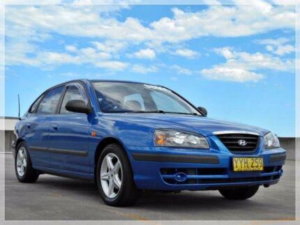 2003 Hyundai Elantra XD GLS Blue 4 Speed Automatic Sedan Brookvale Manly Area Preview
