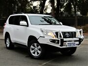 2016 Toyota Landcruiser Prado GDJ150R GXL White 6 Speed Sports Automatic Wagon Kalamunda Kalamunda Area Preview