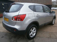 0757 NISSAN QASHQAI 2.0 AUTOMATIC ACENTA 5DR SILVER MET 84K FSH 10 SRVS STAMPS