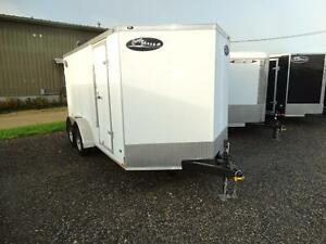 7x14 Enclosed trailer for $48.80 per payment! Kitchener / Waterloo Kitchener Area image 1