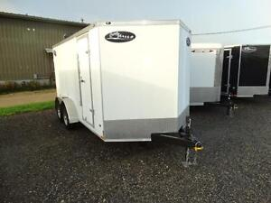 7x14 Enclosed trailer for $48.80 per payment!