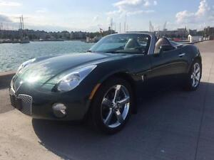 2007 Pontiac Solstice Convertible just 19985 kms $16995