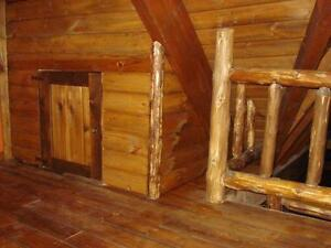 RUSTIC LOG FURNITURE - CUSTOM MADE; PINE OR CEDAR Kitchener / Waterloo Kitchener Area image 6