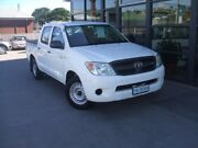 2007 Toyota Hilux GGN15R MY08 SR 4x2 White 5 Speed Manual Utility Invermay Launceston Area Preview