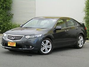 2012 Honda Accord Euro CU MY12 Luxury Grey 5 Speed Automatic Sedan Melrose Park Mitcham Area Preview