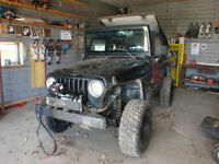 1998 Jeep TJ lots of parts Parting out or complete