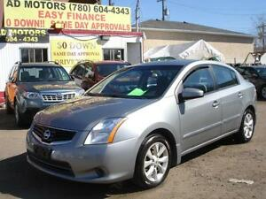 2012 NISSAN SENTRA SL AUTO LOADED 72K-100% APPROVED FINANCING
