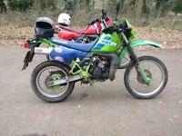 Kawasaki kmx 200 (reg as 125)