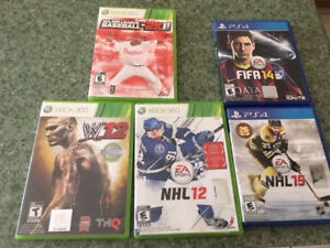 PS4 NHL15 & FIFA14 (Mint Condition)