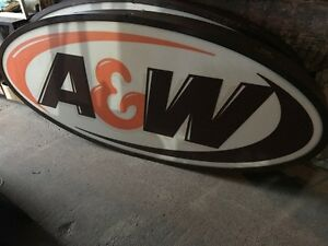 Old A&W signs