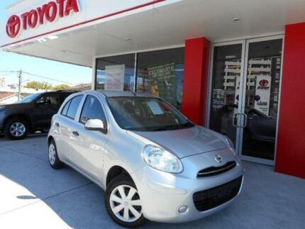 2014 Nissan Micra K13 MY13 ST Silver 4 Speed Automatic Hatchback Allawah Kogarah Area Preview