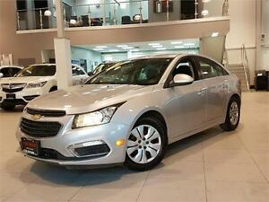 2015 Chevrolet Cruze LT-AUTOMATIC-REAR CAM-ONLY 65KM