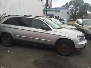 chrysler pacifica 2005 (PIECES OU ROUTES ) $595. 514-793-0833