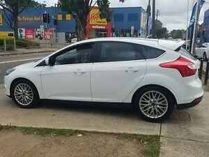 2011 Ford Focus LW Sport White 6 Speed Automatic Hatchback Five Dock Canada Bay Area Preview