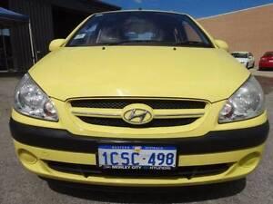 2008 Hyundai Getz 5 Door Automatic Hatchback Wangara Wanneroo Area Preview