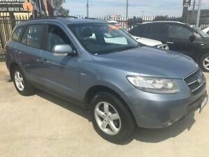 2008 Hyundai Santa Fe CM MY08 SX Blue 4 Speed Sports Automatic Wagon St James Victoria Park Area Preview