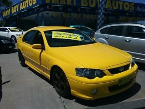 2004 Ford Falcon BA MkII XR6T Yellow 4 Speed Auto Seq Sportshift Sedan Greenacre Bankstown Area Preview