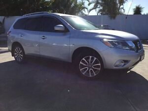2014 Nissan Pathfinder R52 MY14 ST X-tronic 2WD Silver 1 Speed Constant Variable Wagon Currimundi Caloundra Area Preview