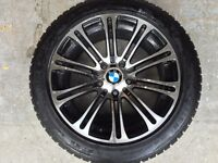225 50 17 Winter Tires with M3 Rims BMW X1