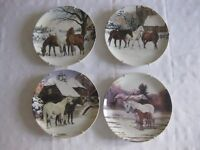 Spode Noble Horse Christmas Collection limited edition plates