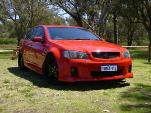 2009 Holden Commodore VE MY09.5 SS V Sportwagon Red 6 Speed Manual Wagon