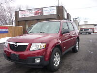 2008 Mazda Tribute SUV, One Owner LOW KM, REDUSED 4Cylin Windsor Region Ontario Preview
