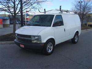 2005 Chevrolet Astro LADDER RACK / ONLY 167,000 KMS