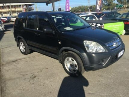 2006 Honda CR-V 2005 Upgrade (4x4) Black 5 Speed Automatic Wagon Beaconsfield Fremantle Area Preview