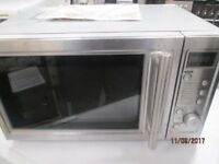 *+*BaRgAiN*FULL CHROME/FULL DIGITAL MICROWAVE/COLLECTION/VERY CLEAN/WORKS GREAT/WARRANTY GIVEN*