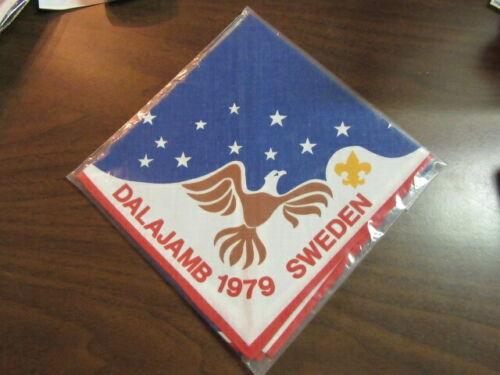 1979 Dalajamb Sweden US Contingent Neckerchief     eb03